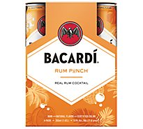 Bacardi Rum Punch - 4-355 ML