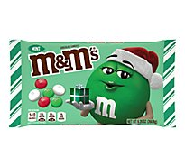 M&Ms Chocolate Candies Chrismas Holiday Mint - 9.2 Oz