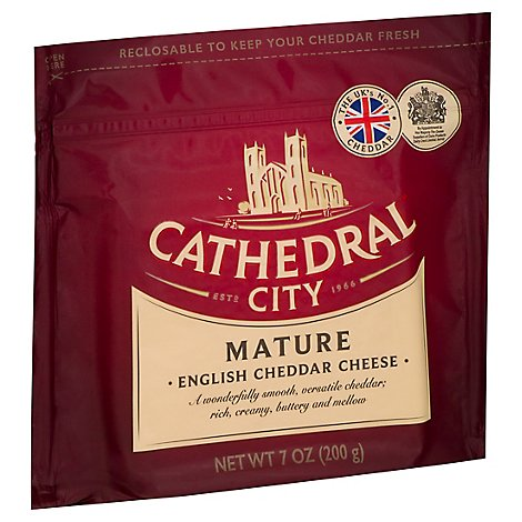 Cathedral City Mature White Cheddar Cheese - 7 OZ