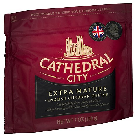 Cathedral City Extra Mature White Cheddar Cheese - 7 OZ