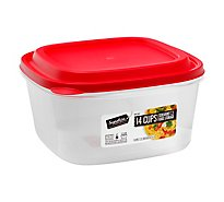 Signature Select Food Storage Square 14 Cup - EA