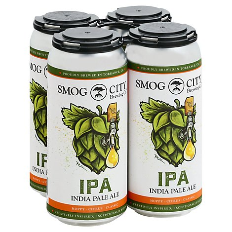 Smog City Ipa Cns - 4-16 FZ