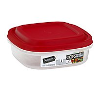 Signature Select Food Storage Square 3 Cup - EA