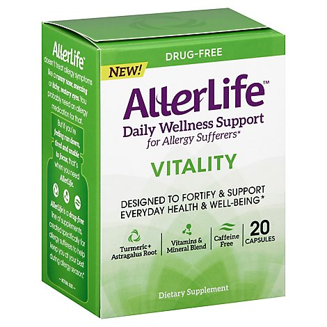 Allerlife Vitality Support Capsule - 20 CT