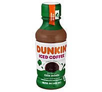 Dunkin Thin Mint Iced Coffee Bottle - 13.7 FZ