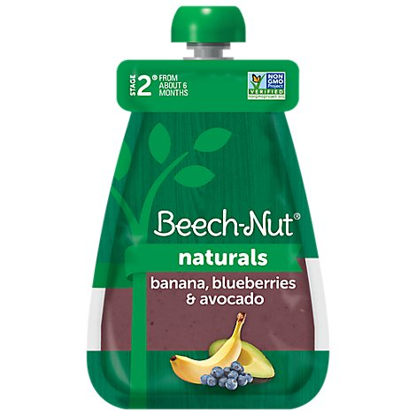 Beech Nut Naturals Banana Blueberry & Avocado - 3.5 OZ