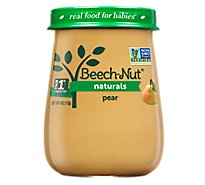 Beechnut Natural Pear Stage 1 - 4 OZ