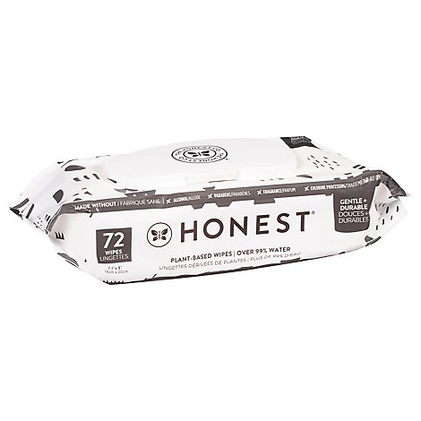 The Honest Co Pattern Play Wipes - 72 CT