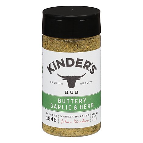 Kinders Seasoning Buttery Garlic Herb - 5 OZ