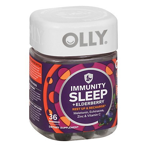Olly Immunity Sleep Elderberry - 36 CT
