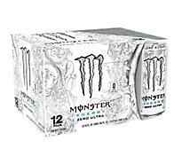 Monster Energy Drink Zero Sugar Ultra - 12-16 Fl. Oz.