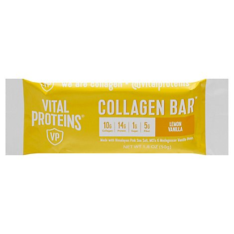 Vital Proteins Collagen Lemon Vanilla Bar - 1.8 OZ