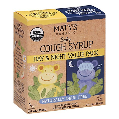 Matys Organic Baby Cough Syrup Value Pack - 4 FZ