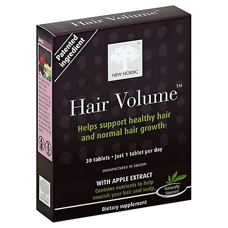New Nordic Hair Volume Tablets - 30 CT