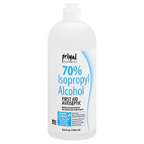Primal Elements Isopropyl Alcohol - 32 OZ