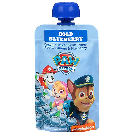 Paw Patrol Bold Blueberry Organic Blended Fruit Snack - 3.5 OZ