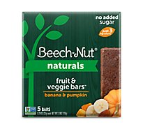 Beechnut Fruit & Veggie Bar Banana & Pumpkin - 5-.78 OZ