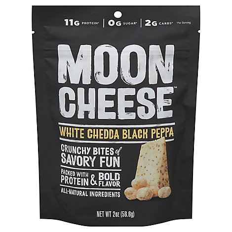 Moon Cheese Chs Snk Wht Ched Blck Ppr - 2 OZ