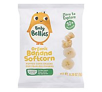 Baby Bellies Organic Banana Softcorn - .28 OZ