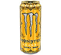 Monster Energy Drink Sugar Free Ultra Gold - 16 Fl. Oz.
