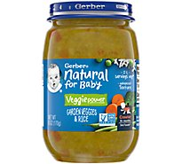 Gerber 3rd Foods Garden Vegetable & Rice - 6 OZ