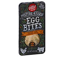 Vital Farms Egg Bites Bacon Cheddar 2ct - 4.6 OZ