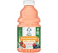 Gerber Organic Fruit Infused Water Strawberry - 32 FZ