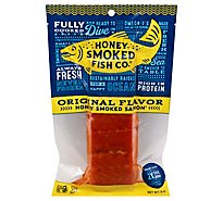 Salmon Orig Flavor Honey Smoked 8oz - 8 OZ