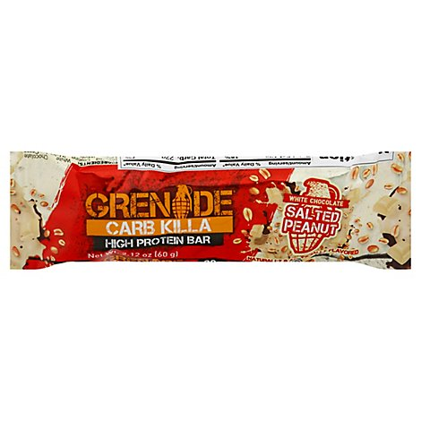 Carb Killa White Chocolate Salted Peanut Bar - 2.12 OZ