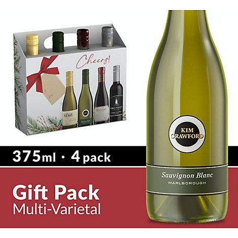 Constellation Brands Wine Gift Set Multi Varietal - 4-375 ML