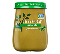 Beechnut Stg 1 Natural Green Beans - 4.0 OZ