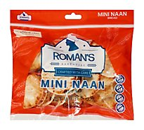 Roman's Bakehouse Naan Mini - 8.46 OZ