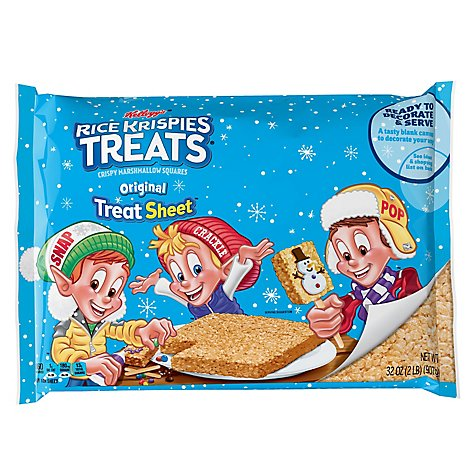 Kelloggs Rice Krispies Treats Squares - 32 OZ