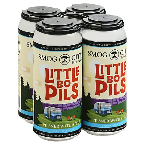 Smog City Little Bo Pils Cns - 4-16 FZ