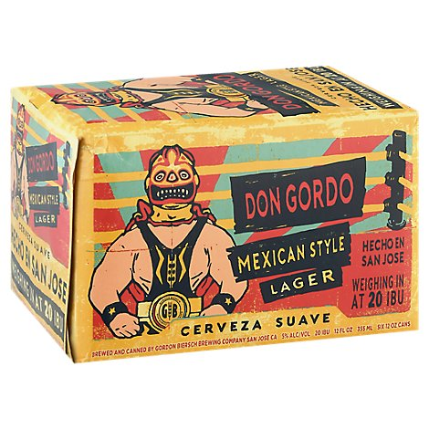 Gordon Biersch Don Gordo In Cans - 6-12 FZ