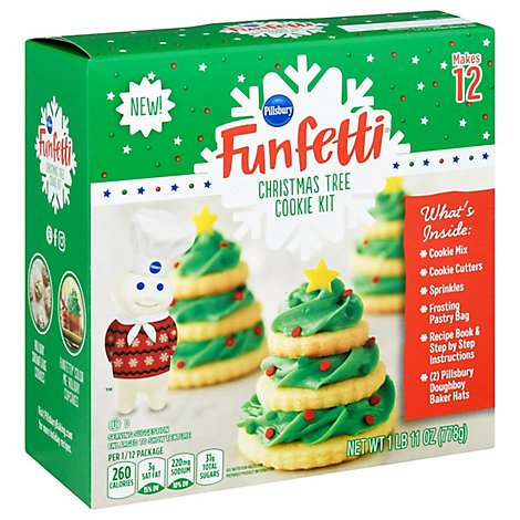 Pillsbury Sugar Cookie Tree Kit Holiday - 39.52 OZ
