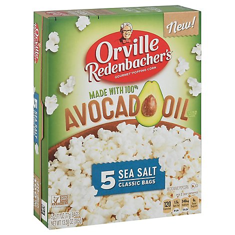 Orville Redenbachers Avocado Oil Microwave Popcorn - 13.6 OZ