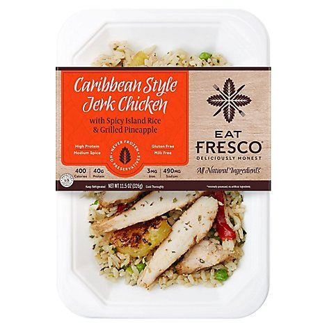 Eat Fresco Caribbean Style Jerk Chicken - 11.5 OZ