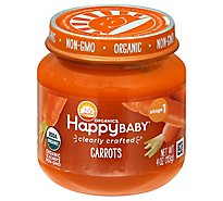 Happy Baby Cc Stage 1 Carrots Jars Org - 4 OZ