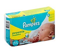 Pampers Swaddlers Preemie Diapers - 27 CT