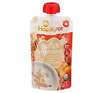Happy Tot Apple Cinnamon Yogurt & Oats - 4 OZ
