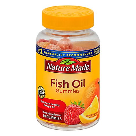 Nature Made Fish Oil Gummies - 90 CT