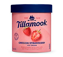 Tillamook Ice Cream Strawberrystrawberry - 48 OZT