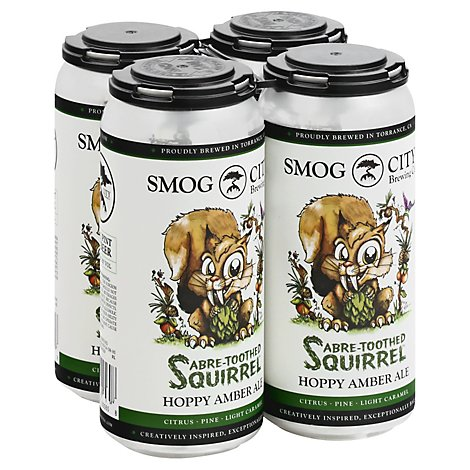 Smog City Sabre-toothed Squirrel In Cans - 4-16 FZ