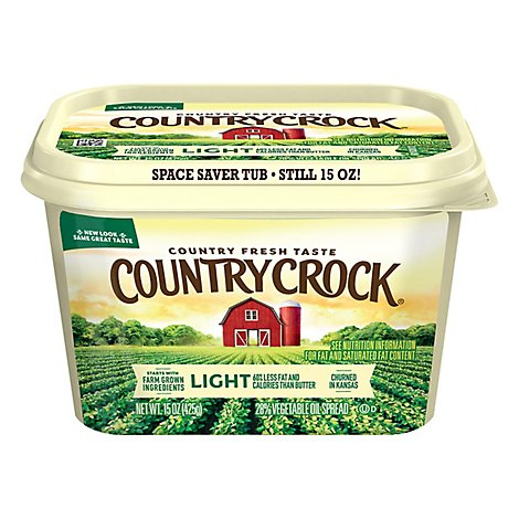 Shedds Spread Country Crock Light - 15 OZ