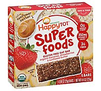 Happytot Super Food Banana/strawberry Bar - 4.4 OZ