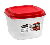 Signature Select Food Storage Square 7 Cup - EA