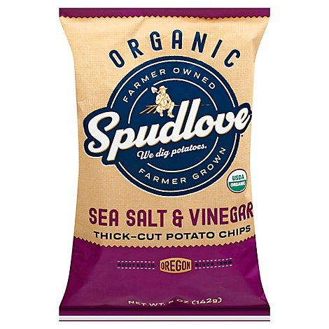 Spudlove Sea Salt & Vinegar - 5 OZ