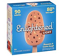 Enlightened Brownie Cookie Ice Cream Bar - 4-3.75 FZ
