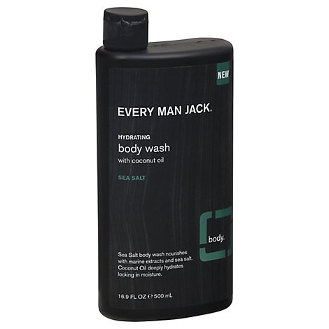 Every Man Jack Sea Salt Body Wash - 16.9 OZ